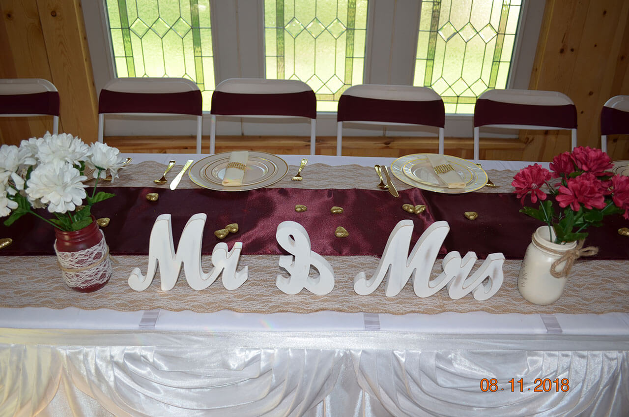 Reception Decors